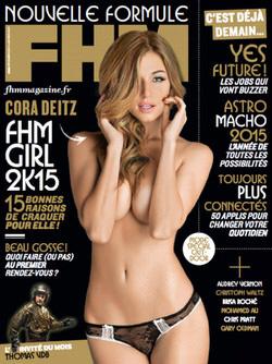 FHM starring Cora Deitz - Alessia Laudoni · photographer