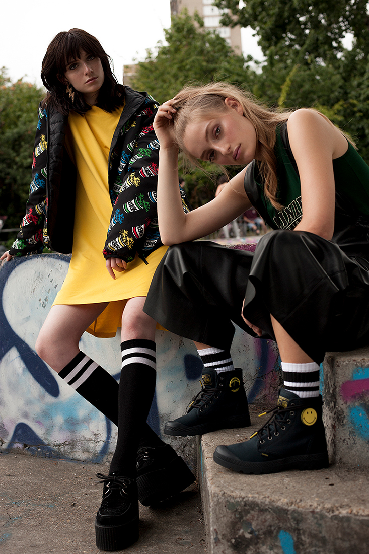 URBAN SEVENTEEN with Maddy, Minna and Camille - Alessia Laudoni · photographer
