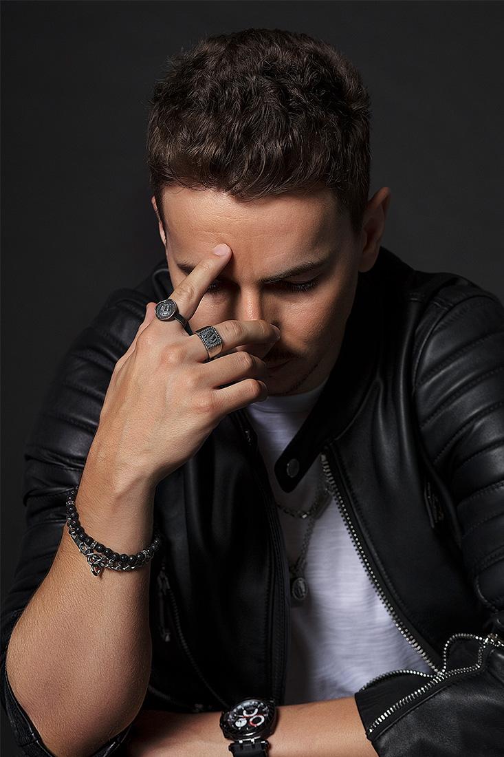 SKULL RIDER starring Jorge Lorenzo - Alessia Laudoni · photographer